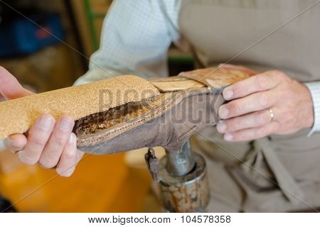 Experienced shoemaker