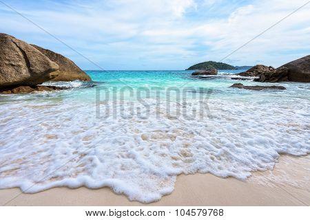 Summer Beach In Thailand