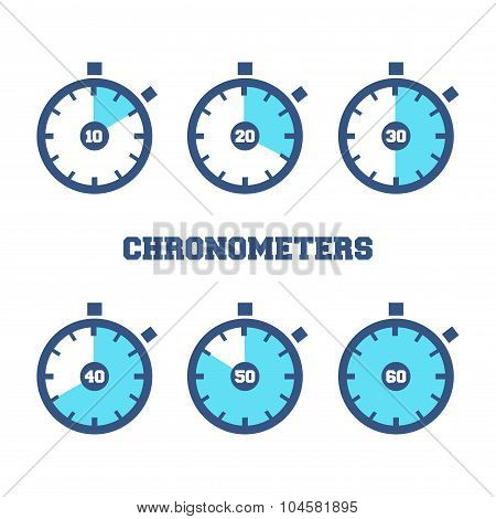 Sports Chronometers Time Laps