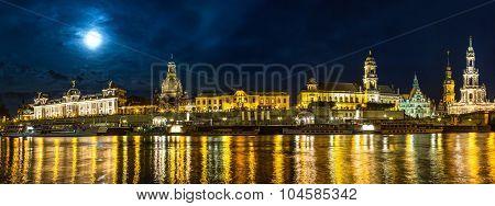 Dresden In Night