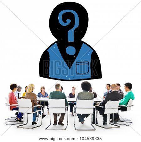 Assessment Employment Recruitment Hiring Searching Concept