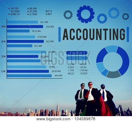 Accounting Finance Auditing Money Banking Concept