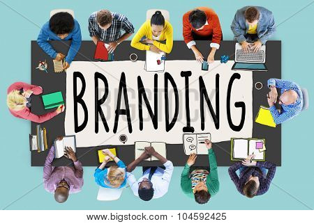 Branding Brand Marketing Business Strategy Identity Concept