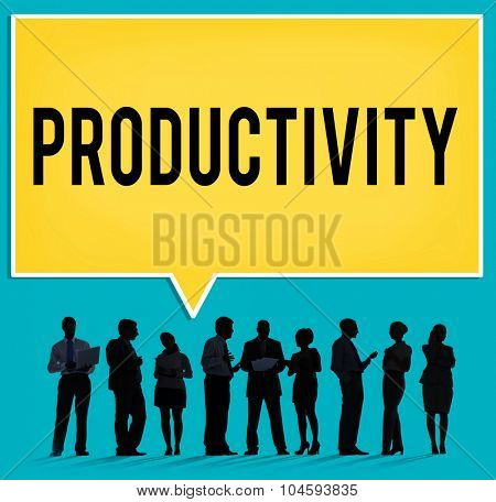 Productivity Production Capacity Efficiency Concept