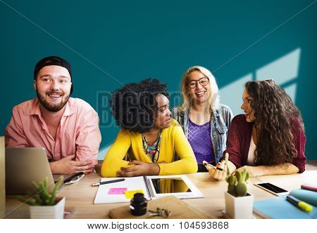 Team Teamwork Working Togetherness Unity Concept