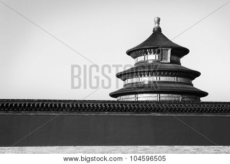 Famous Chinese Beijing Copy Space Temple Roof Concept