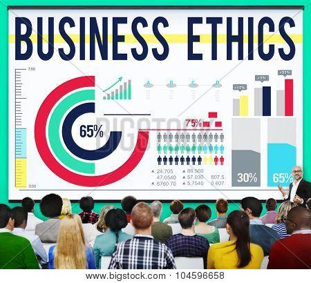 Business Ethnics Ideology Behavior Honesty Concept