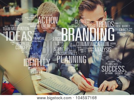 Branding Marketing Advertising Identity World Trademark Concept