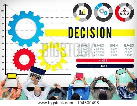 Decision Discussion Opportunity Option Selection Concept