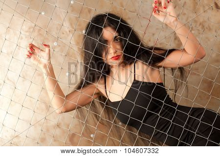 Woman And The Grid