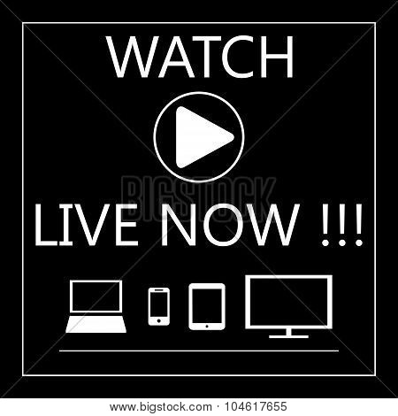 Watch Live On All Mobile Devices - Laptop, Smart Phone, Tablet,