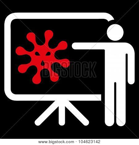 Virus Report Icon