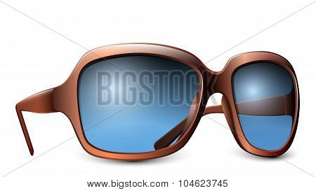 Glasses Isolated On A White Background. Vector Illustration