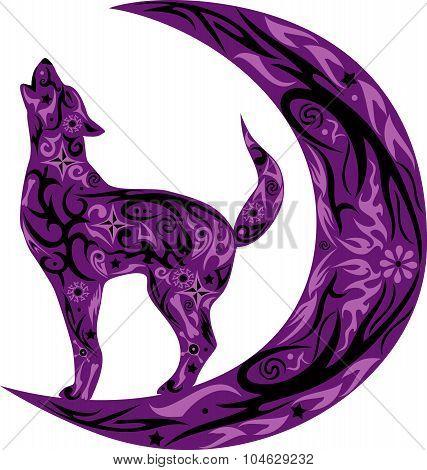 wolf violet
