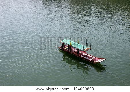 Stationed Tourist Boat