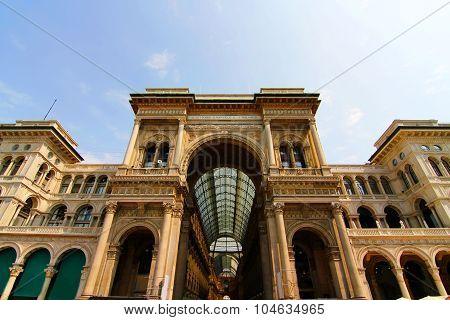 Galleria Vittorio Emanuele In Milano.