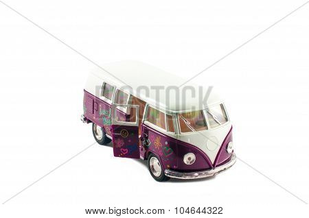 Small Toy Minibus