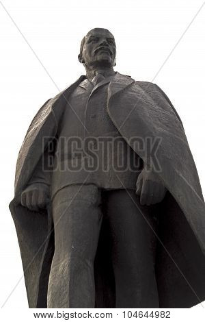 Lenin monument, Barnaul, September 2015