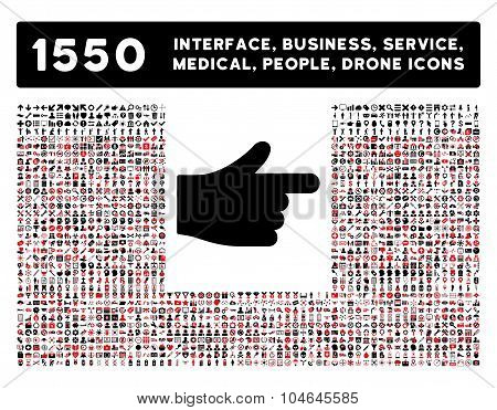 Index Icon and More Interface, Business, Tools, People, Medical, Awards Flat Vector Icons