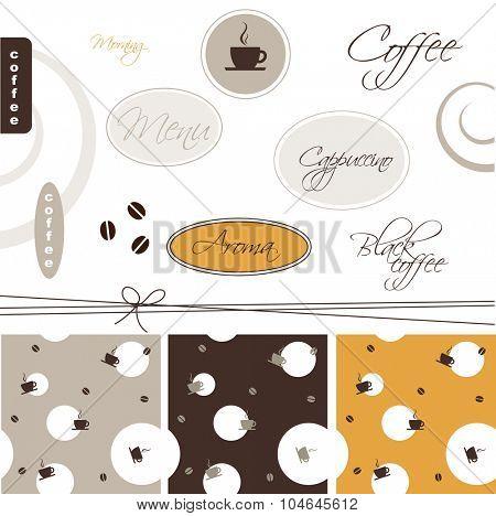 Coffee - design elements