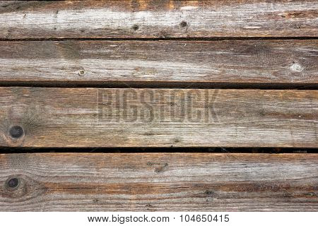 Natural Unpainted Weathered Wood Panel Background
