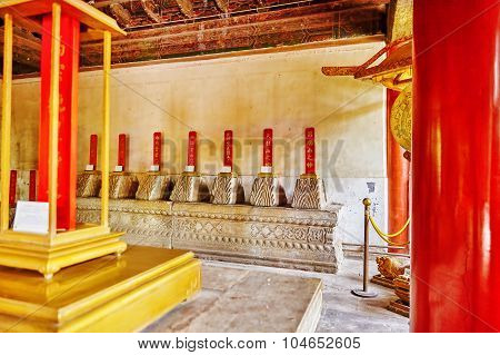 Interior Temple Of Earth (also Referred To As The Ditan Park), Beijing.