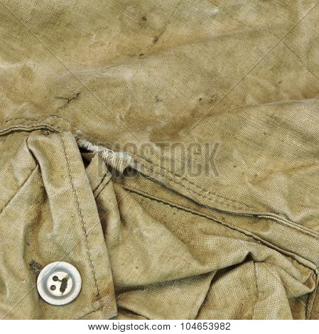 Old Faded Military Army Style Camouflage Square Background