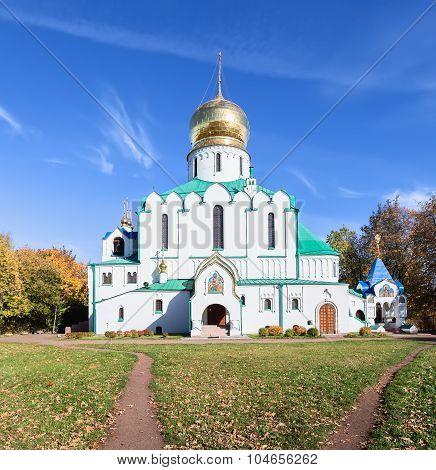 Theodore Sovereign's Cathedral In Pushkin, Russia