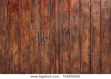 Wooden Planks Brown Background