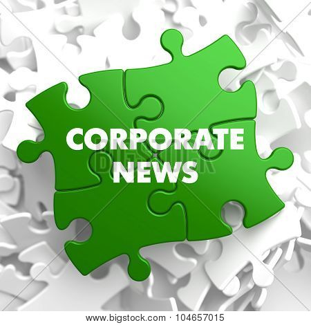 Corporate News on Green Puzzle.