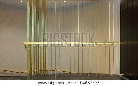 Brass Banister