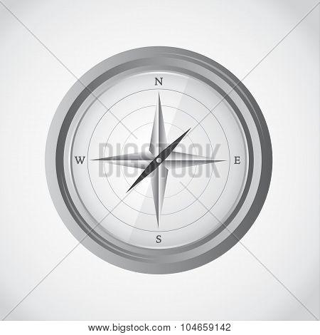 Simple modern compass