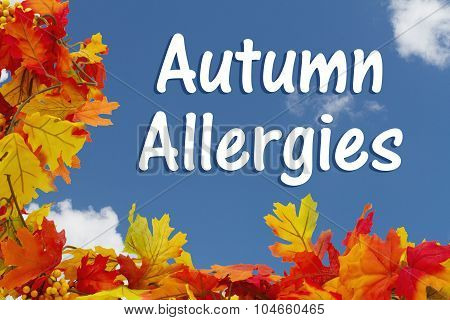 Autumn Allergies