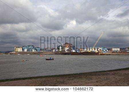 New Development At Exmouth, Devon, England