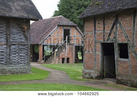 Old Worcestershire Barns, England