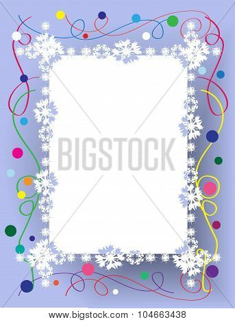 Beautiful Christmas Frame
