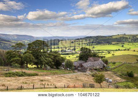 Shropshire farm, England
