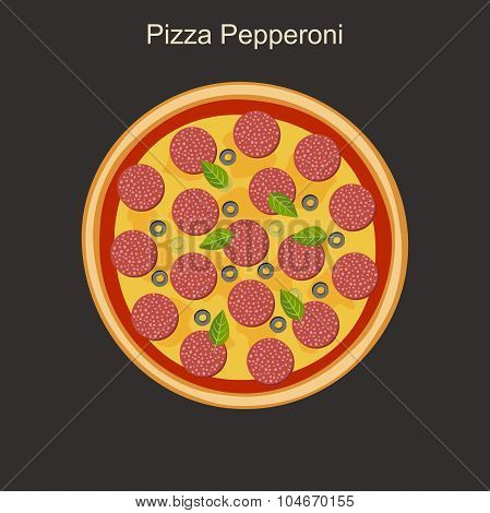 Pizza peppreoni