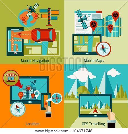 Gps Navigation Set