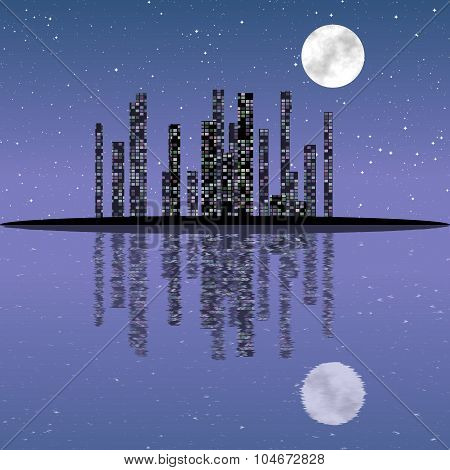 Night cityscape