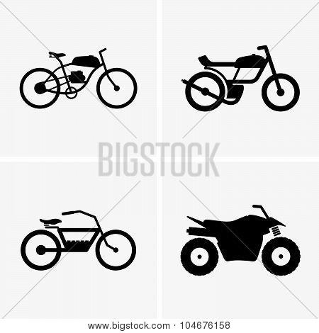 Hybrid bikes and atv