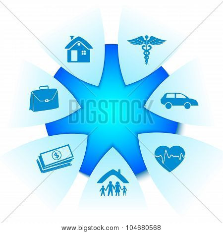 Insurance-services-star-shines-bright-white-background