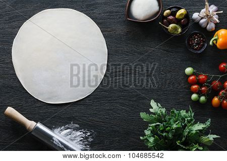 Italian pizza cooking