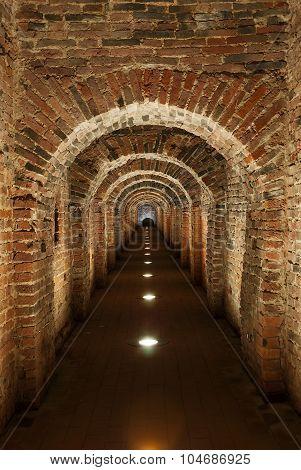 Underground secret passage