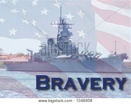 The American Spirit Of Bravery