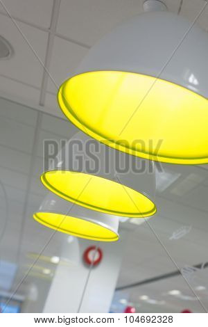Group Of Pendant Lamps