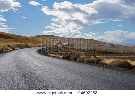 Windy Country Road