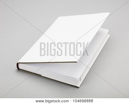 Blank Book White Cover 5,5 X 8,8 In