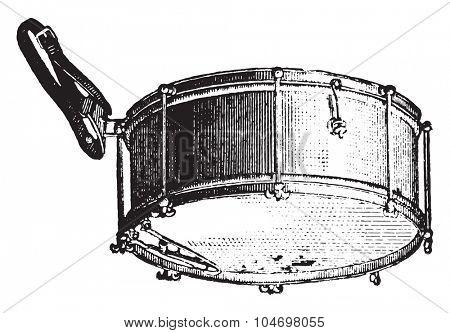 Tarole rods, vintage engraved illustration. Industrial encyclopedia E.-O. Lami - 1875.
