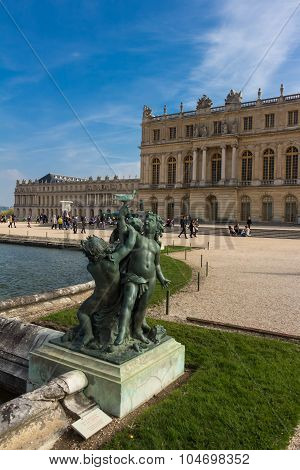 The Statue Of Versailles Castle.